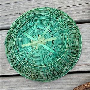 Vintage Wall Art - SOLD ❤️ Boho/Vintage Basket Wall Set 🌹